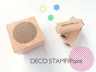 DECO STAMP/Point