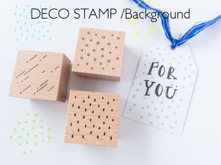 DECO STAMP/Background【Rain /Meteor/Snow】