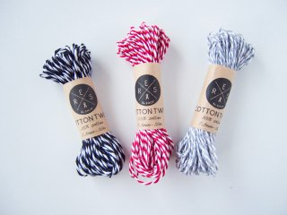 cotton twine Black〈1.5mm/10m〉