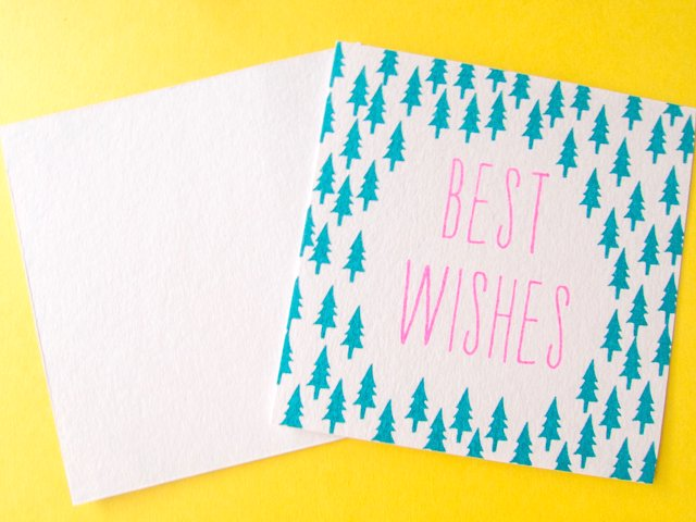 message card best wishes re shop 紙モノと贈り物のお店