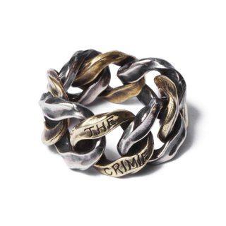 CRIMIE 「MIGHTY RING M」 チェーンリング ■SILVER×BRASS
