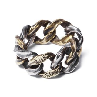 CRIMIE 「MIGHTY RING L」 チェーンリング ■SILVER×BRASS