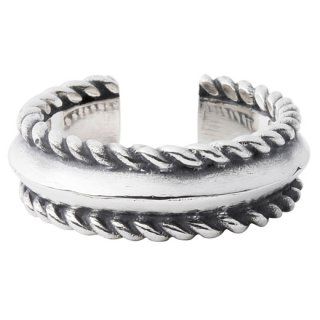 CRIMIE 「GENERAL THE ROPE RING」 ロープリング ■SILVER