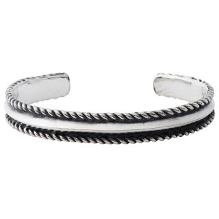 CRIMIE 「GENERAL THE ROPE BANGLE」 ロープバングル ■SILVER