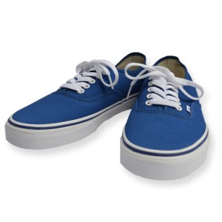 VANS 「AUTHENTIC」 スニーカー ■BLUE