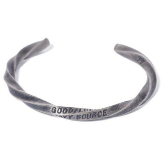 GRAVYSOURCE 「TWIST BANGLE」 バングル ■A.SILVER