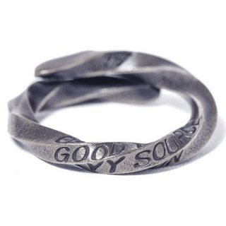 GRAVYSOURCE 「TWIST RING」 リング ■A.SILVER