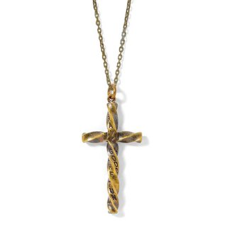 GRAVYSOURCE 「TWIST NECKLACE」 ネックレス ■A.GOLD