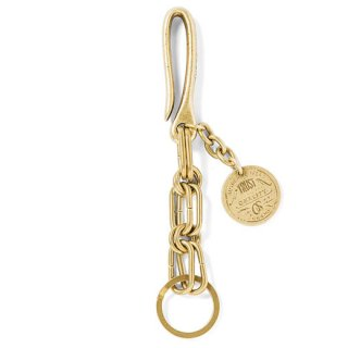 GRAVYSOURCE 「TOUGH KEY CHAIN」 キーチェーン ■A.GOLD