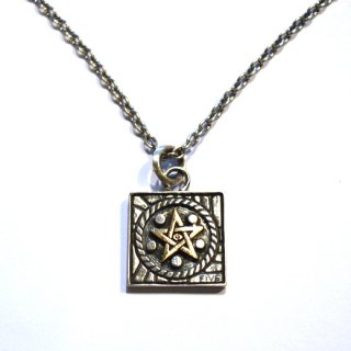 FIVE POINTZ 「MASONS PENDANT」 ネックレス ■SILVER×10K