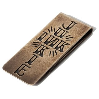 SOFTMACHINE 「INK JUNKIE MONEY CLIP」 マネークリップ ■BRASS