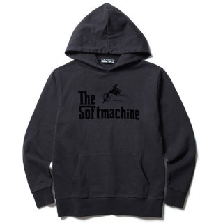 SOFTMACHINE 「GOD HOODED」 スウェットパーカー ■BLK