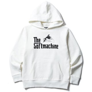 SOFTMACHINE 「GOD HOODED」 スウェットパーカー ■WHT