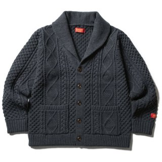 <img class='new_mark_img1' src='//img.shop-pro.jp/img/new/icons20.gif' style='border:none;display:inline;margin:0px;padding:0px;width:auto;' />【SALE 20%OFF】SOFTMACHINE 「TERENCE CARDIGAN」 ショールカラーカーディガン ■BLK
