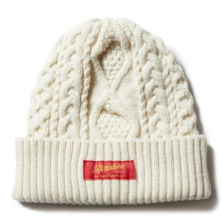 <img class='new_mark_img1' src='//img.shop-pro.jp/img/new/icons14.gif' style='border:none;display:inline;margin:0px;padding:0px;width:auto;' />SOFTMACHINE 「TERENCE KNIT CAP」 ニットキャップ ■WHT