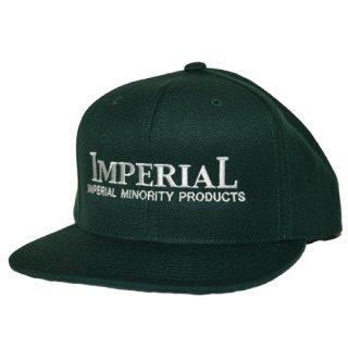IMPERIAL 「LOGO BB CAP」  スナップバックキャップ ■GREEN