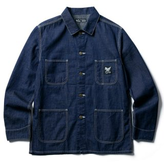 SOFTMACHINE 「RAILROADER JK」 デニムカバーオール ■DENIM