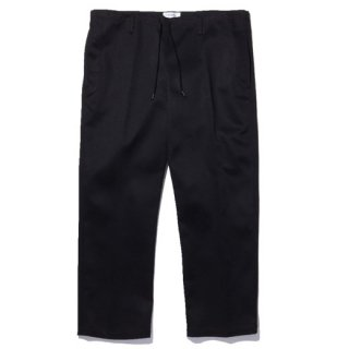 RADIALL 「LAID BACK - EASY PANTS」 チノイージーパンツ ■BLK