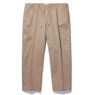 RADIALL 「LAID BACK - EASY PANTS」 チノイージーパンツ ■BEIGE