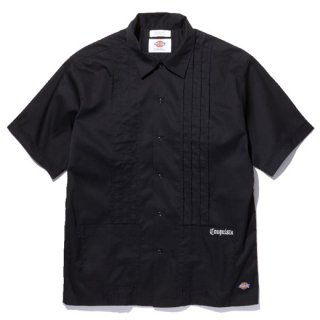 RADIALL 「LAID BACK - OPEN COLLARED SHIRT S/S」 キューバシャツ ■BLK