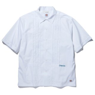 RADIALL 「LAID BACK - OPEN COLLARED SHIRT S/S」 キューバシャツ ■WHT