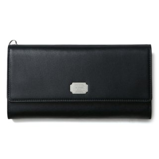 CRIMIE 「LEATHER LONG WALLET」 レザーロングウォレット ■BLK