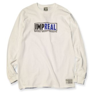 <img class='new_mark_img1' src='https://img.shop-pro.jp/img/new/icons20.gif' style='border:none;display:inline;margin:0px;padding:0px;width:auto;' />【SALE 20%OFF】IMPERIAL 「IMP-REAL L/S」 ロングスリーブTシャツ ■WHT