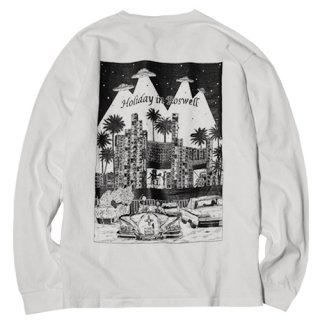 <img class='new_mark_img1' src='//img.shop-pro.jp/img/new/icons14.gif' style='border:none;display:inline;margin:0px;padding:0px;width:auto;' />RADIALL 「HOLIDAY - CREW NECK T-SHIRT L/S」 ロングスリーブTシャツ ■WHT