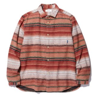 RADIALL 「EL CAMINO - REGULAR COLLARED SHIRT L/S」 ジャガードシャツ ■SUNSET ORG