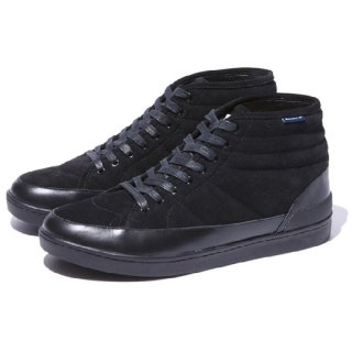 RADIALL 「RICO - HI TOP SNEAKER」 ハイトップスニーカー ■BLK