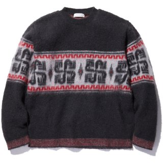 <img class='new_mark_img1' src='//img.shop-pro.jp/img/new/icons14.gif' style='border:none;display:inline;margin:0px;padding:0px;width:auto;' />RADIALL 「COSMIC WHEEL - CREW NECK SWEATER L/S」 モヘアニットセーター ■BLK