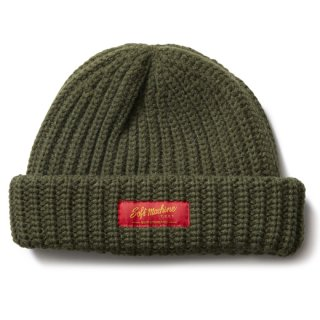 SOFTMACHINE 「DAILY KNIT CAP」 ウールニットキャップ ■OLIVE