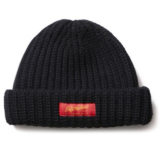 SOFTMACHINE 「DAILY KNIT CAP」 ウールニットキャップ ■BLK