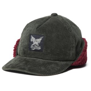 SOFTMACHINE 「NO COUNTRY CAP」 コーデュロイボアキャップ ■OLIVE