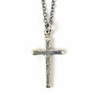 RADIALL 「CROSS CHARM NECKLACE」 ネックレス ■SILVER