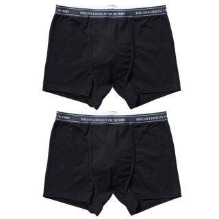 CRIMIE 「2P-PACK THE CR BOXER SHORTS」 2Pパックボクサーショーツ ■BLK