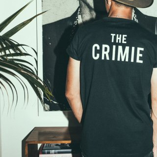 CRIMIE 「THE CRIMIE LOGO T-SHIRT」 ロゴTシャツ ■BLK