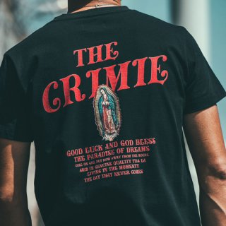 <img class='new_mark_img1' src='https://img.shop-pro.jp/img/new/icons14.gif' style='border:none;display:inline;margin:0px;padding:0px;width:auto;' />CRIMIE 「GUADALUPE T-SHIRT」 グアダルーペマリアTシャツ ■BLK