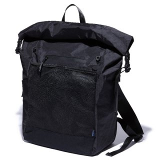 RADIALL 「SMOKEY CAMPER - ROLLTOP BACK PACK」 バックパック ■BLK