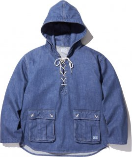 <img class='new_mark_img1' src='//img.shop-pro.jp/img/new/icons41.gif' style='border:none;display:inline;margin:0px;padding:0px;width:auto;' />TUFF NUFF PULLOVER PARKA JKT BLUE