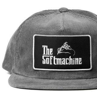 SOFTMACHINE GOD CORD CAP GRAY
