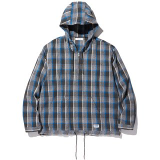 RADIALL EL CAMINO - HOODED SHIRT L/S BLUE