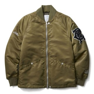 <img class='new_mark_img1' src='//img.shop-pro.jp/img/new/icons41.gif' style='border:none;display:inline;margin:0px;padding:0px;width:auto;' />CRIMIE TEAM STUDIUM THINSULATE ZIP JACKET  OLIVE