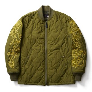 <img class='new_mark_img1' src='//img.shop-pro.jp/img/new/icons41.gif' style='border:none;display:inline;margin:0px;padding:0px;width:auto;' />SOFTMACHINE RISE & FALL JK QUILTING JACKET OLIVE