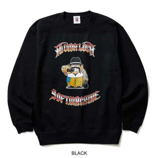 SOFTMACHINE  CHOLO SWEAT(CREW NECK SWEAT)  BLK