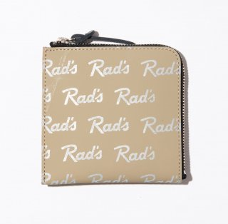 <img class='new_mark_img1' src='https://img.shop-pro.jp/img/new/icons14.gif' style='border:none;display:inline;margin:0px;padding:0px;width:auto;' />RADIALL   RAD'S - ZIP SQUARE WALLET  BEIGE