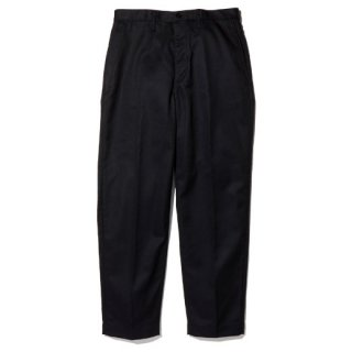 RADIALL CVS WORK PANTS - SLIM FIT  BLK