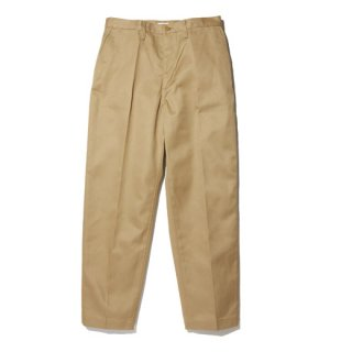 RADIALL CVS WORK PANTS - SLIM FIT  BEIGE