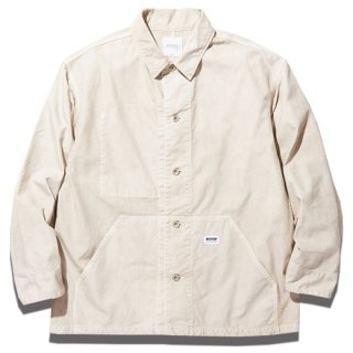 <img class='new_mark_img1' src='https://img.shop-pro.jp/img/new/icons14.gif' style='border:none;display:inline;margin:0px;padding:0px;width:auto;' />RADIALL  DOWN HILL - ENGINEER JACKET WHITE
