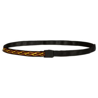 RADIALL  FLAMES - NARROW BELT RED